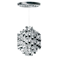 Spiral SP1 Pendant Light in Chrome by Verner Panton