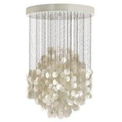 Fun 4DM Seashell Pendant Light by Verner Panton