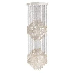 Fun 5DM Seashell Pendant Light by Verner Panton
