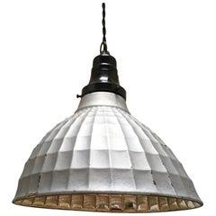 1930s Industrial Pendant Lamp
