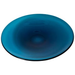 Midcentury Glass Platter by Sven Palmquist