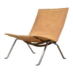 PK22 Easy Chair by Poul Kjaerholm for E. Kold Christensen, Denmark, 1956