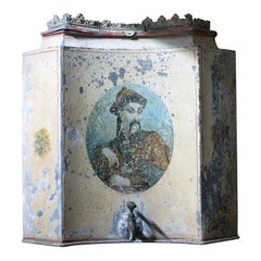 Early 19th Century French Chinoiserie Tôle Peinte Water Urn, circa 1820