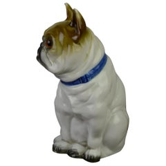 Art Deco Bulldog Perfume Lamp