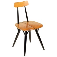 Ilmari Tapiovaara, 'Pirkka' Side Chair, 1955, Lovely Original Early Version