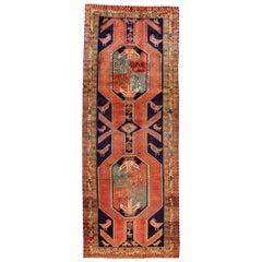 Mid-20th century vintage North West Persian Runner Rug