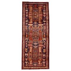 Mid 20th century Vintage North West Persian Runner Rug