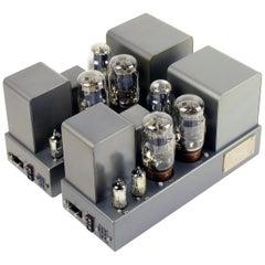 Quad II Amplifiers, 1953, Superb Pair of Power Amps, Original KT66 Valves/Tubes