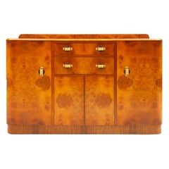 Art Deco Sideboard Credenza from Ireland