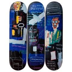 Horn Players Skateboard Decks after Jean-Michel Basquiat