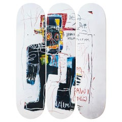 Irony of a Negro Policeman Skateboard Decks After Jean-Michel Basquiat