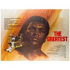 Greatest, Muhammad Ali British Film Poster, 1966, Arnaldo Putzu