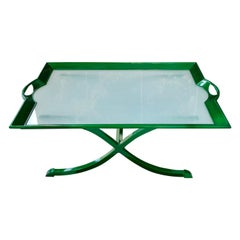 Glass Tray Coffee Table