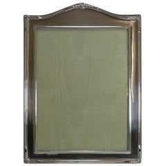Large English Sterling Silver Picture / Photograph Frame, 1922
