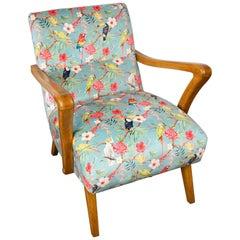 Italian Midcentury Lounge Chair