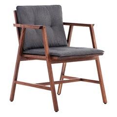 Silla Comedor Dedo, Mexican Contemporary Dining Chair by Emiliano Molina