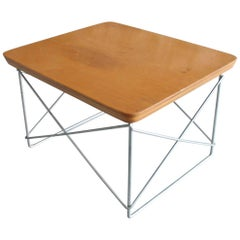 Early Eames for Herman Miller LTR Table 'Wood Top and Labeled'