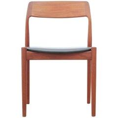 Mid-Century Modern Scandinavian Set of 4 Teak Dining Chairs