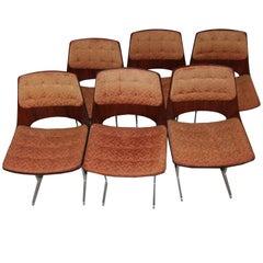 Chairs Jorge Zalszupin, Brazilian Design