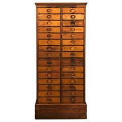 Amberg's Imperial Letter File Multi-Drawer Cabinet, circa 1920