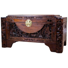 Chinese Carved Chest from the 1930s