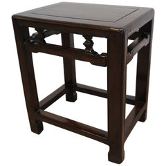 Chinese Antique Stool Side Table