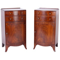 Pair of Georgian Style English Nightstands