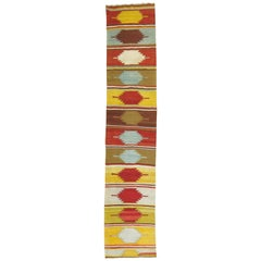 Antique Turkish Kilim Runner