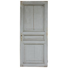 Antique Door in Original Paint, France