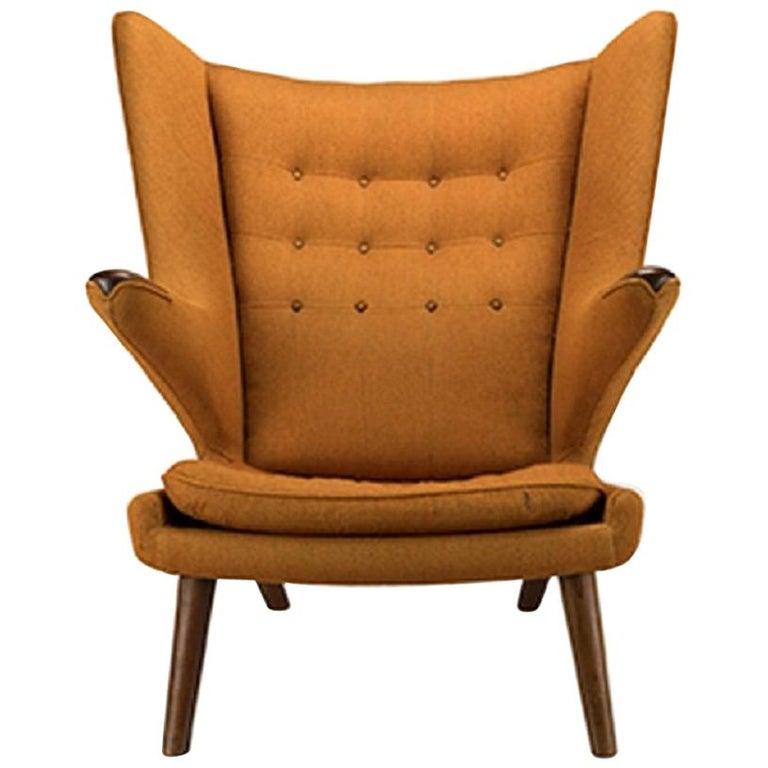 Pleasant Hans Wegner Papa Bear Chair At 1Stdibs Ibusinesslaw Wood Chair Design Ideas Ibusinesslaworg