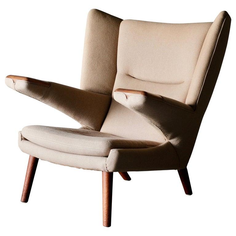 Magnificent Hans Wegner Mega Papa Bear Chair For Sale At 1Stdibs Ibusinesslaw Wood Chair Design Ideas Ibusinesslaworg