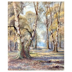 """""""Springtime in the Forest"""" by Louis Comfort Tiffany"""