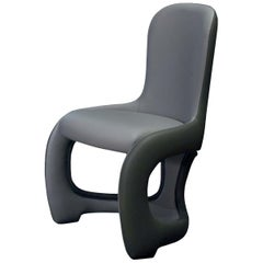 Venere Gray Padded Chair
