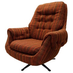 Vintage Retro Swivel Egg Lounge Chair, 1970s