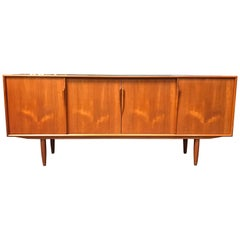 Danish Teak Midcentury Sideboard by Gunni Omann for Omann Jun