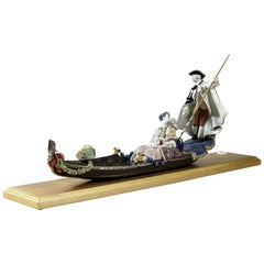 Gondola in Venice Sculpture, Limited Edition