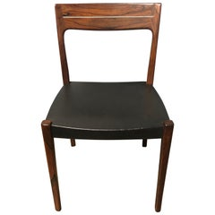 Midcentury Rosewood Side Chair