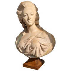 Bust of Madame Marie Madeleine Guimard, after Gaetano Merchi, 1790s