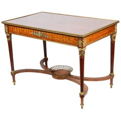 French Louis XVI Style Centre Table, circa 1890