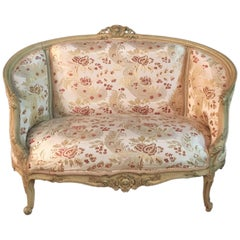20th Century, French Sofa in Louis Quinze Style