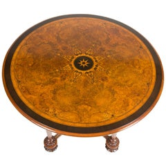 Circular Table Inlaid with Classical Motifs