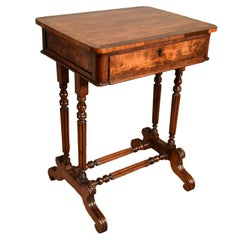Excellent Quality Regency Mahogany Work Table