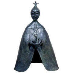 La Dragoneza Surrealism Bronze Sculpture by Leonora Carrington, 2010 Ed. 8/10