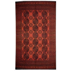 Large Ersari Tribal Turkoman Rug