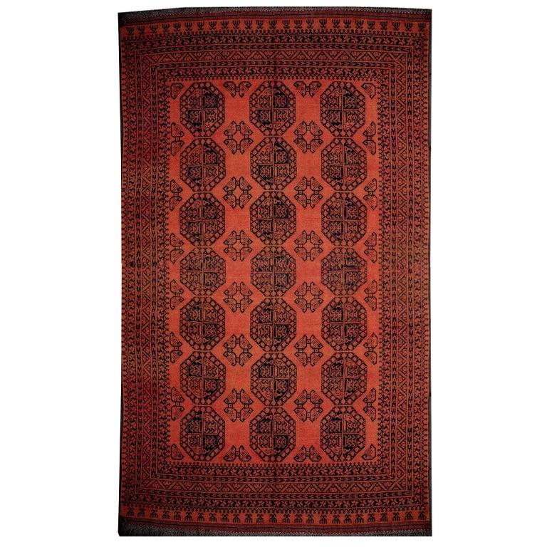 Large Ersari Tribal Turkoman Rug For Sale