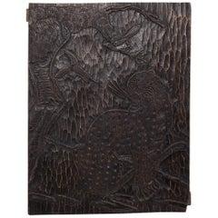 Chinese Tiger Pine Yin Print Block