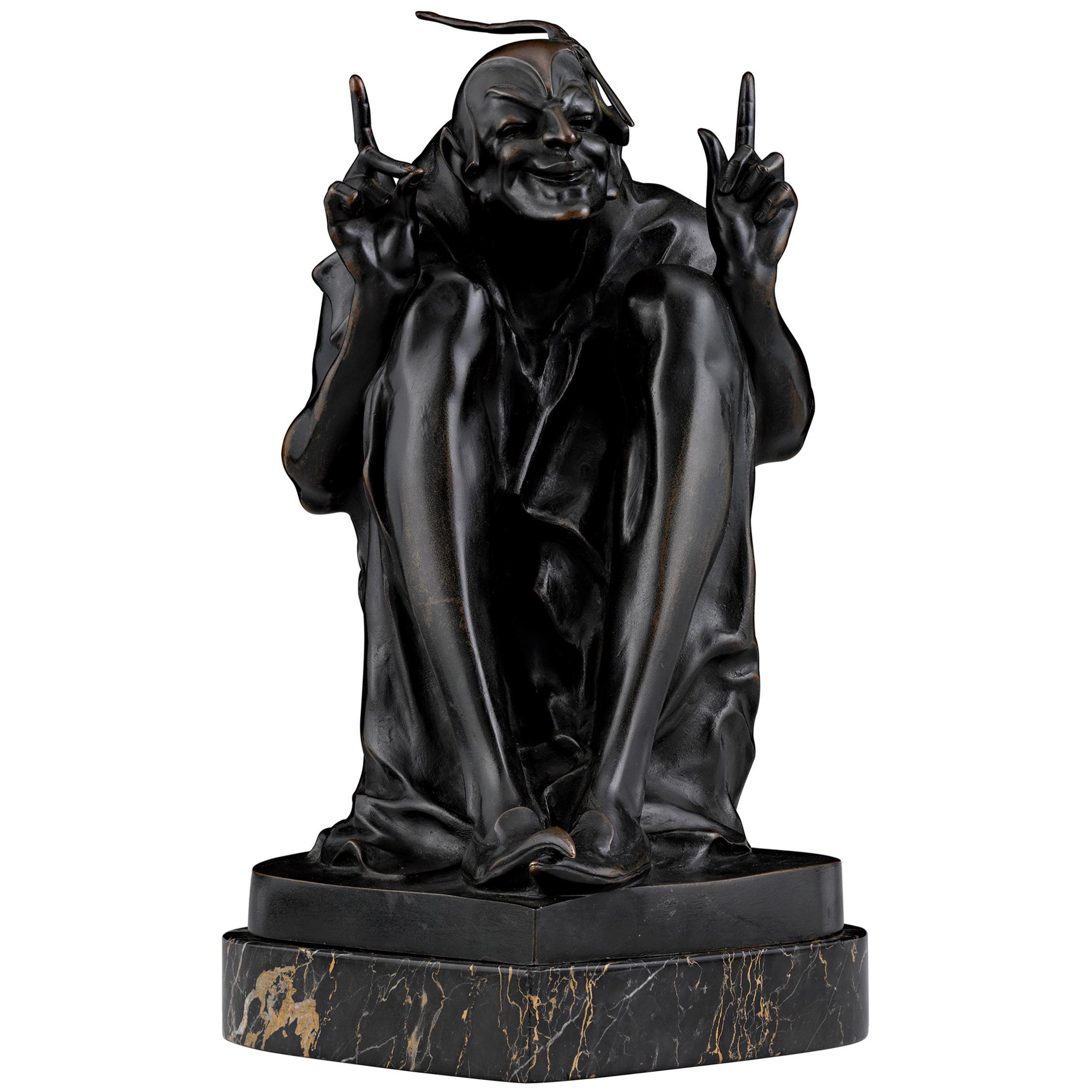 The Hugger Erotic Bronze Attributed to Bruno Zach
