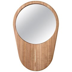 """Fons"" Tray and Mirror in Solid Wood"