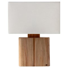 """Ligna"" Table Lamp in Solid Wood"