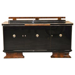 Sophisticated Art Deco Sideboard or Credenza